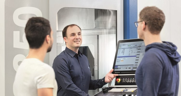 GROB training universal machining centers
