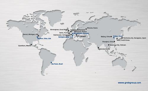 GROB expands its global sales network : GROB-WERKE GmbH & Co  KG