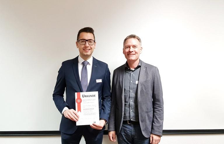 Andreas Baur von GROB erhält Deutschlandpreis