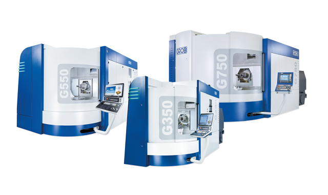 Our GROB universal machining centers
