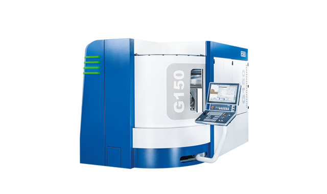 Our new 5-axis universal machining center