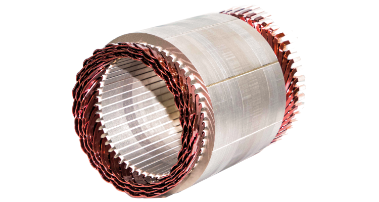 Stator with hairpin technology