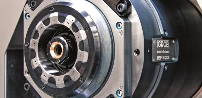 Motorized spindle versions G550T GROB