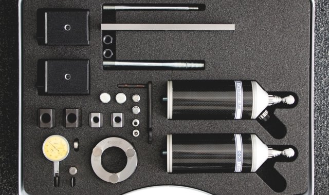 GROB kinematic measurement inspection equipment set