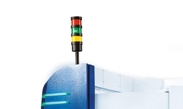 Machine status lamp