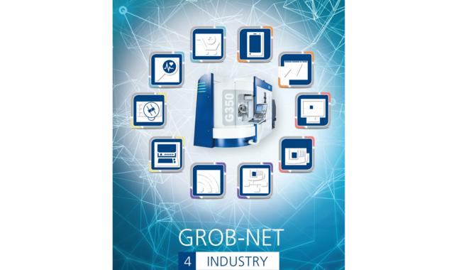 Unsere Softwareapplikation GROB-NET4Industry