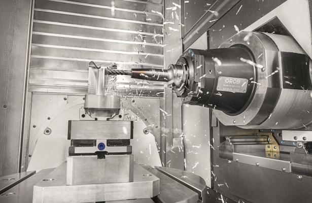 G750 von GROB – Hochdynamische Produktion