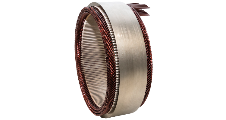 Stator with Continuous Hairpin
