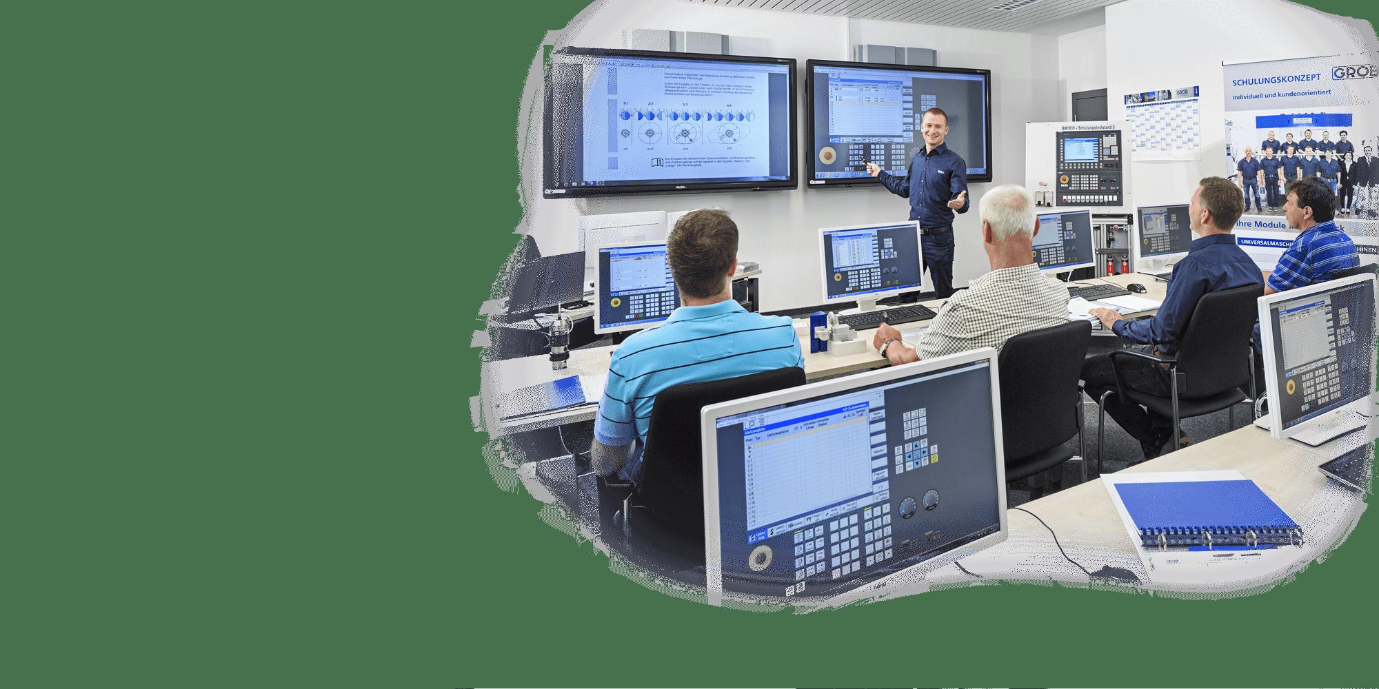 Die GROB-Schulungfür Heidenhain-und Siemens-Steuerungen